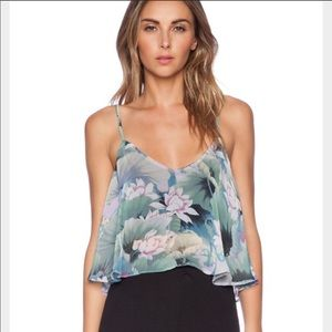 Show Me Your Mumu Water Lilly Charlie Crop Top